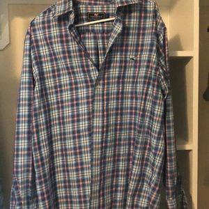 NWOT Vineyard Vines performance classic shirt